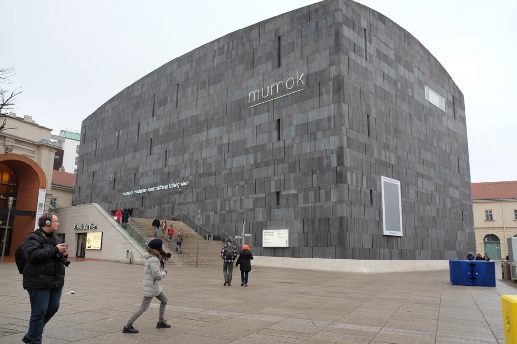 ウイーンの現代美術(館)にチャレンジ。