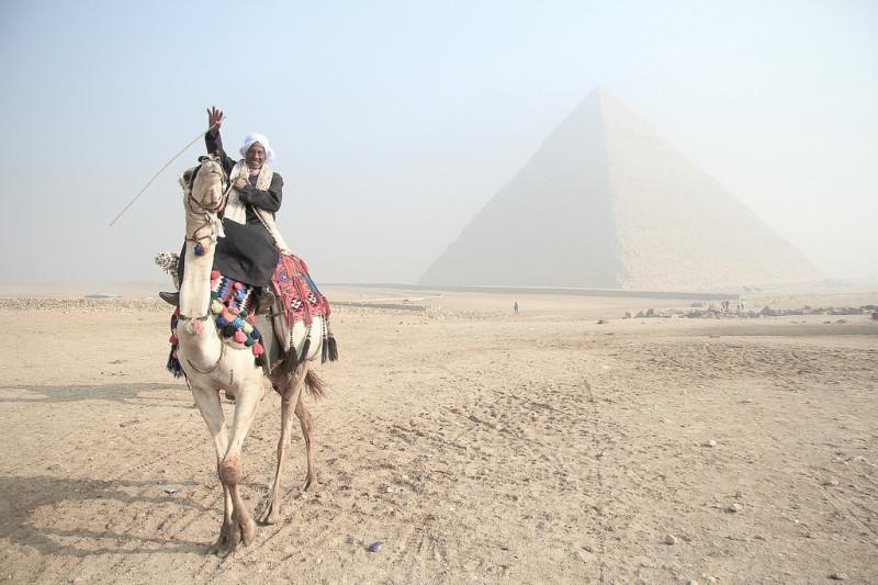 「ピラミッド積んできたよ」
