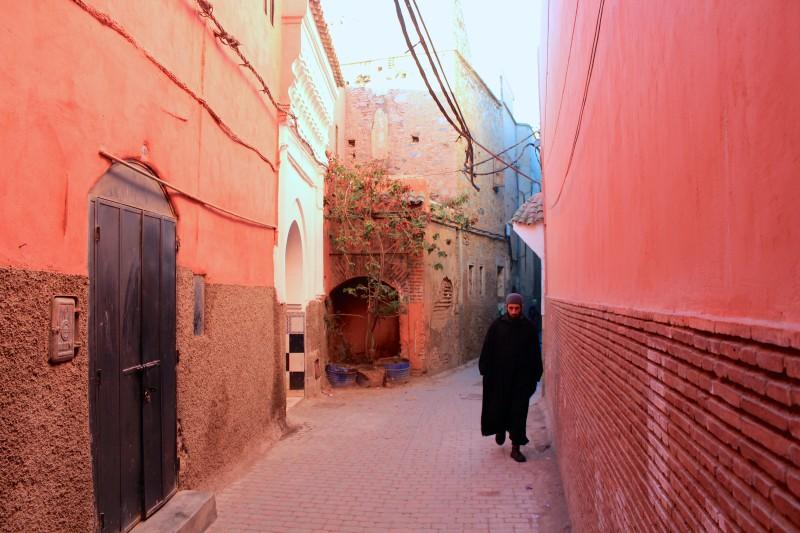 モロッコの道