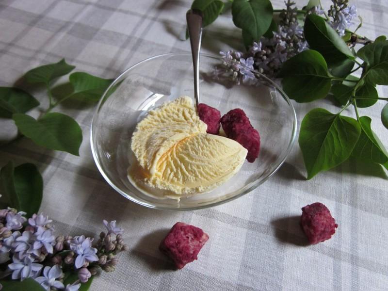 バニラアイスもひときわ繊細に、美味しくいただけます。