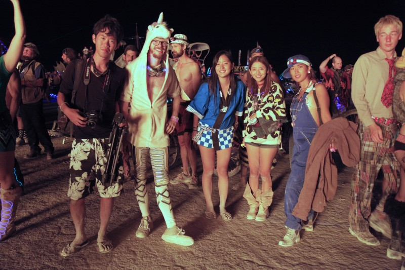 砂漠のお祭り