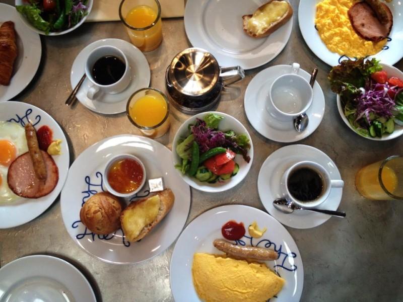 尾道U2の朝食