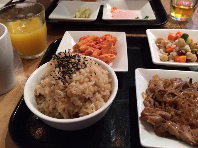 玄米ご飯(大盛り)
