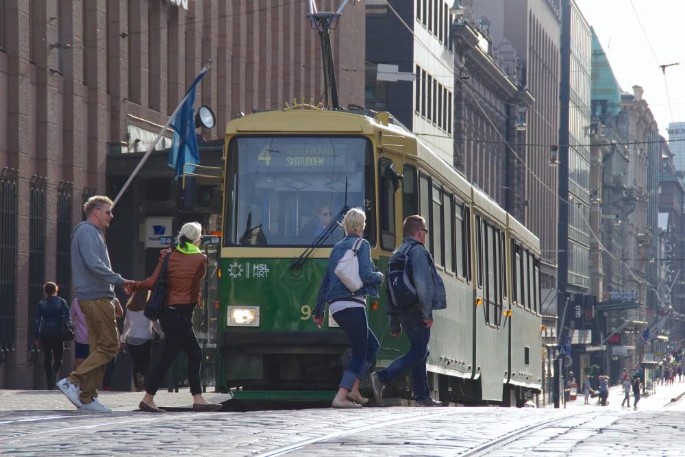 フィンランドの首都ヘルシンキにて