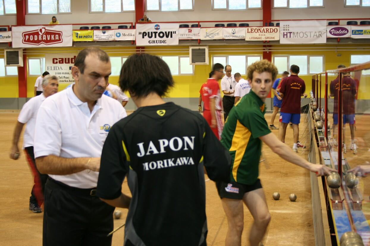 2007年グルーデ、決勝トーナメントでの日本vsオーストラリアの試合