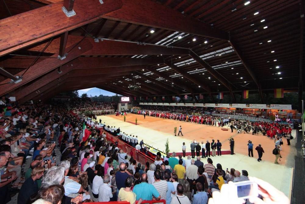 2011年フェルトレでの、大会会場の様子。