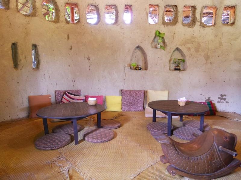 おしゃれカフェ。チェンマイは田舎なのに、意外におしゃれなカフェがたくさんあり、女性人気の高さにも一役買っている
