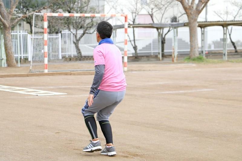 プレシジョンで会心の投球を決める渡辺。視線の先は、ターゲットボールの先の未来だ