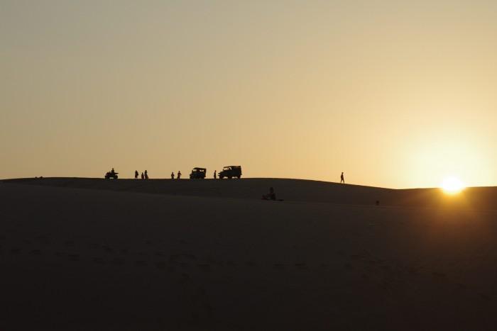 ベトナムには美しい砂丘もあります(White Sand Dunes)
