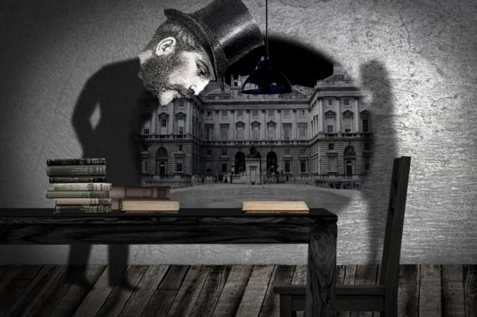 物語を読む時に浮かびあがる心理的な「影」をビジュアルにしたのがこちらです。