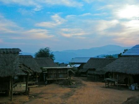 ラフ族の村