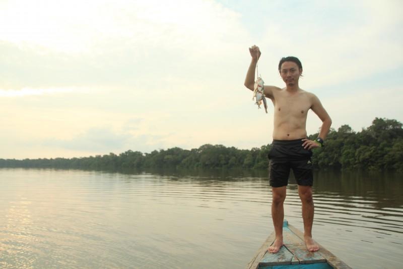 ブラジル / アマゾン川にて