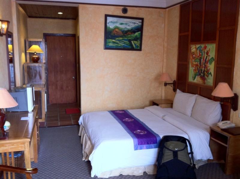 ベトナム北部のホテル。