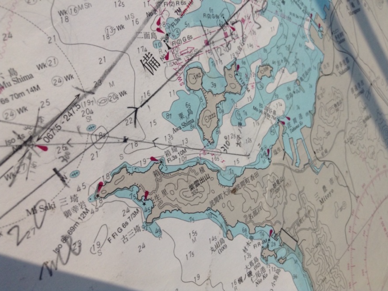 田中稔彦の海図