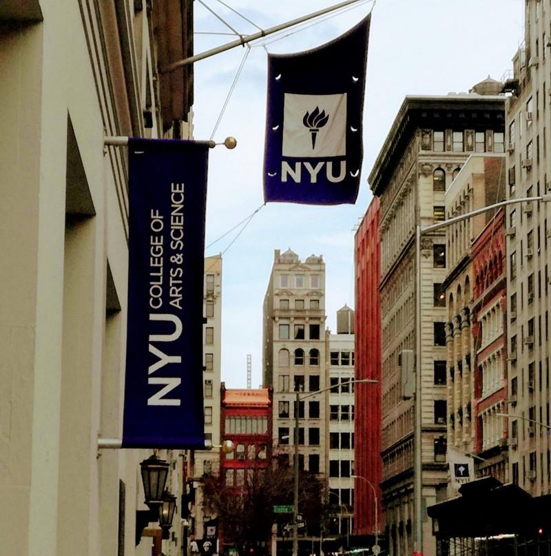 「今の自分」を受け止められなかった留学時代、毎日のように通ったニューヨーク大学界隈にて。