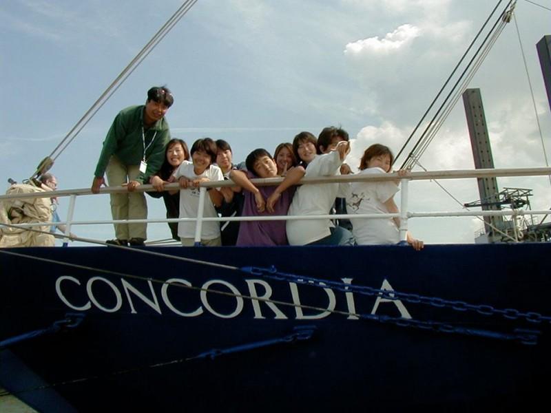 コンコルディア号にて