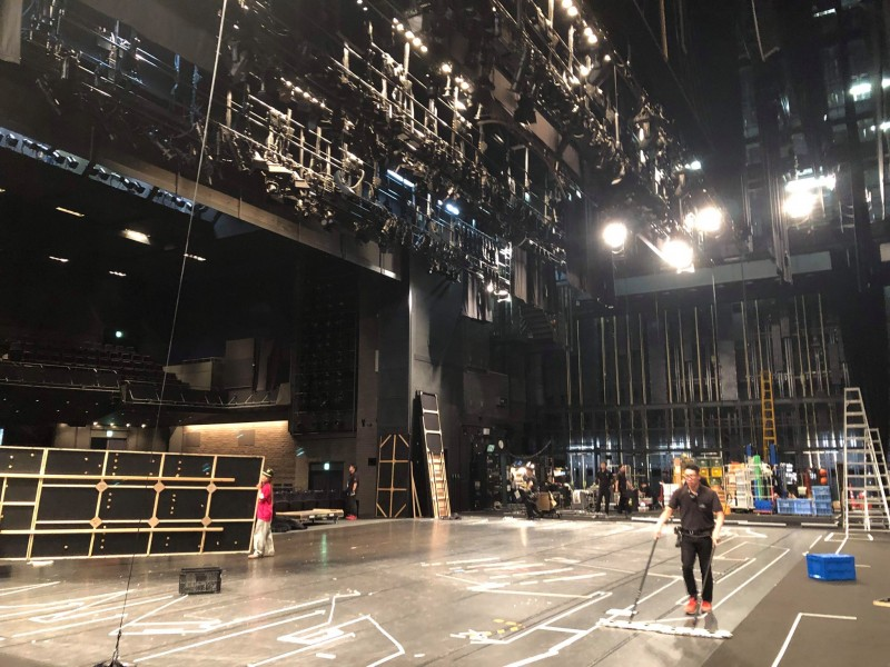 舞台照明の仕事