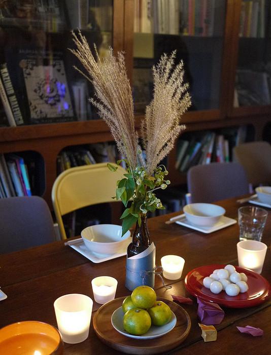 テーブルコーディネートは中村真美さん