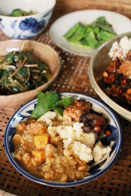 野菜いっぱいの豊かなレシピ